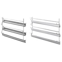 3 level telescopic shelf set