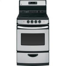 "GE® 24"" Self Clean Free-Standing Electric Range"