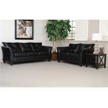 1050 San Marino Ebony Sofa and Loveseat