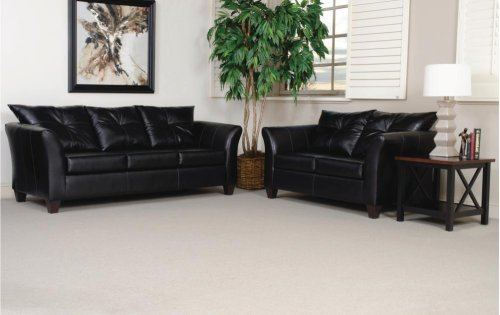 San Marino Ebony Loveseat