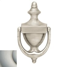 Satin Nickel with Lifetime Finish Colonial Knocker