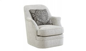 Amanda Sterling Swivel Chair