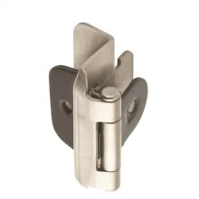 Self-closing, Double Demountable 1/2in(13mm) Overlay Hinge