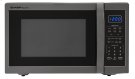 1.4 cu. ft. 1100W Sharp Black Stainless Steel Countertop Microwave (SMC1452CH) Product Image