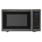 1.4 cu. ft. 1100W Sharp Black Stainless Steel Countertop Microwave Product Image