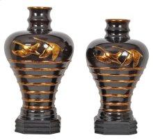 Rising Swans Vases