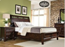 Hayden Sleigh Bed with Storage