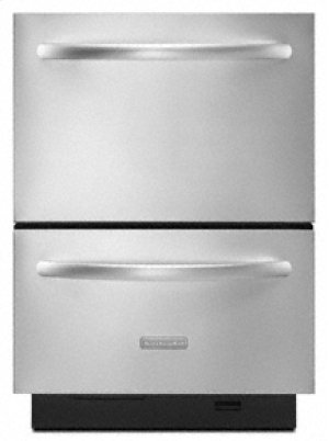 Double-Drawer Dishwasher System Whisper Quiet® Sound Insulation System 6 Cycles 4 Cycle Options Architect® Series II
