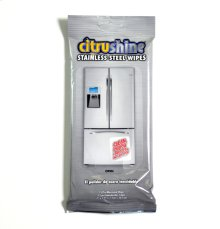 Citrushine Stainless Steel Wipes - 15 Count