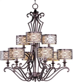 Mondrian 9-Light Chandelier