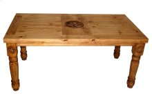 7' Table W/star Top and Leg