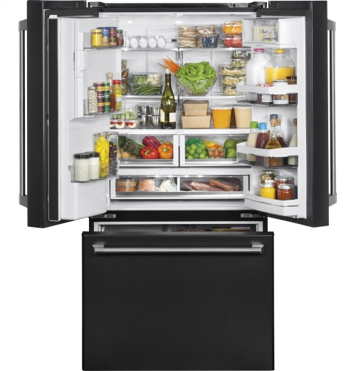 GE Café Series ENERGY STAR® 27.8 Cu. Ft. French-Door Refrigerator with Keurig® K-Cup® Brewing System
