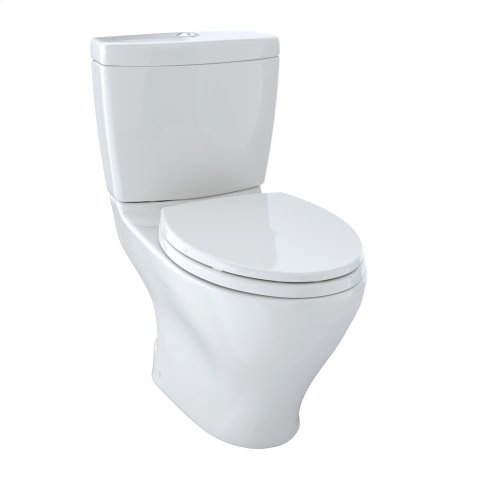 Aquia II Dual Flush Two-Piece Toilet, 1.6 GPF & 0.9 GPF, Elongated Bowl - Colonial White