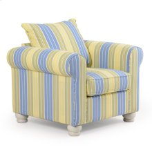 Striped Occasional Chair 890C