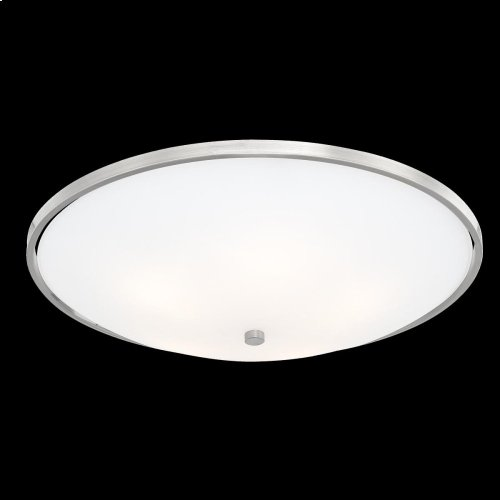 5-LIGHT FLUSHMOUNT - Satin Nickel