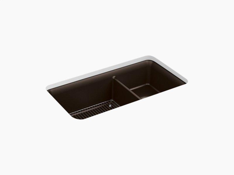 Kitchen Sink Rack K8204cm2 in matte brown by kohler in atlanta ga matte brown 33 1 matte brown 33 12 x 18 516 x workwithnaturefo
