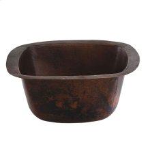Picasso Black Copper Bath Sink