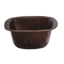 Picasso Black Copper Bath Sink