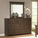 Promenade - Ten Drawer Dresser - Warm Cocoa Finish Product Image