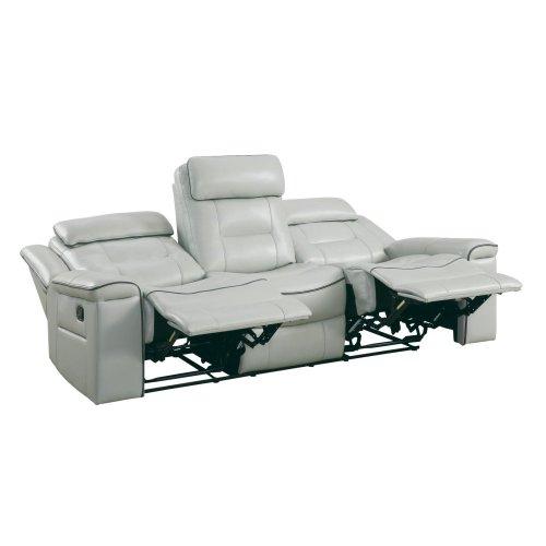 Double Lay Flat Reclining Sofa