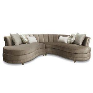 Magnussen HomeTaupe Sofa 2 Pcs Sectional