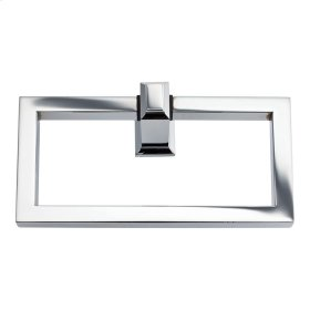 Sutton Place Bath Towel Ring - Polished Chrome