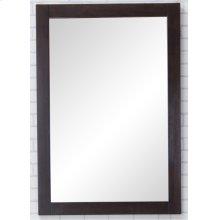 Aqua Vanity Mirror 22in. X 32in. in Dark Walnut