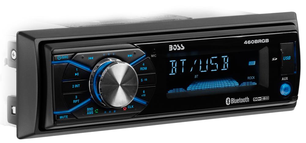 Single-DIN, MECH-LESS Multimedia Player (no CD/DVD) Detach Panel Bluetooth