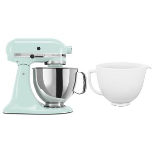 KitchenaidExclusive Artisan® Series Stand Mixer & Ceramic Bowl Set - Ice