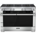 MieleHR 1954 G 48 inch range Dual Fuel with M Touch controls, Moisture Plus and M Pro dual stacked burners