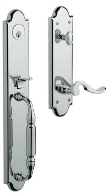 Polished Chrome Devonshire Handleset