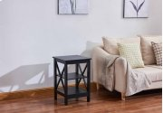 6604 Black End Table Product Image