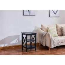 6604 Black End Table