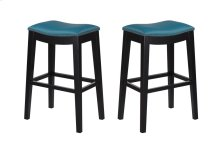 "Emerald Home Briar 30"" Bar Stool Teal Blue D107-30-04"