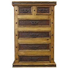 Tooled Leather Chest