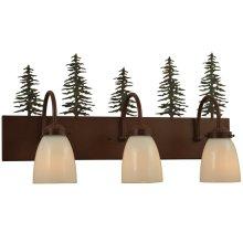"23.5""W Tall Pines 3 LT Vanity Light"