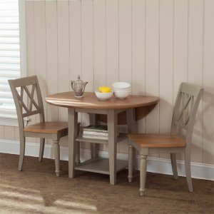 Liberty Furniture Industries Opt 3 Piece Drop Leaf Table Set