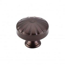 Hudson Knob 1 1/4 Inch - Oil Rubbed Bronze