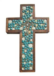 Turq Medium Cross