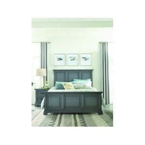 JOHN THOMAS FURNITUREKing Bed in Mineral Gray