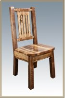 Homestead Dining Side Chair - Stained and Lacquered Product Image