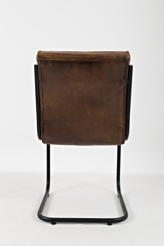 Aviator Genuine Leather Chair (2/ctn)