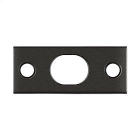 Strike Plate For Extension Flush Bolt - Oil-rubbed Bronze