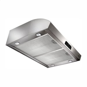 "BROAN30"" 630 CFM Stainless Steel Under-Cabinet Range Hood"