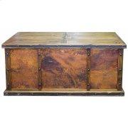 Laguna Desk W/ 3 Copper Panels Product Image