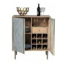 Modern Natural Wine Cabinet