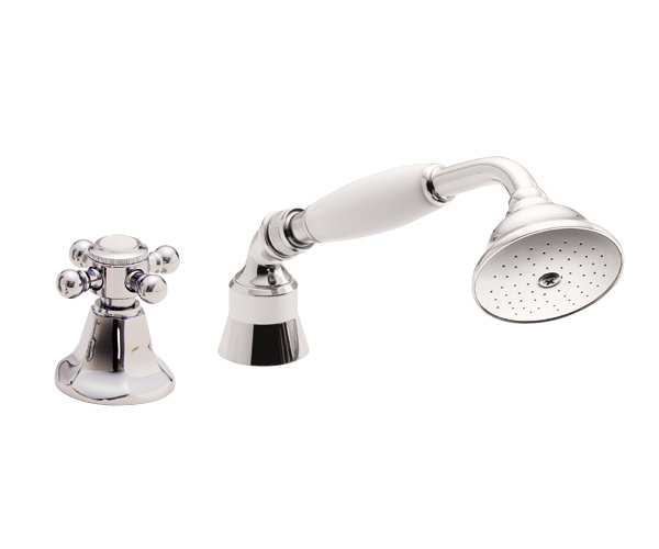 Traditional Handshower & Diverter Trim Only For Roman Tub