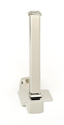 Cube Reserve Tissue Holder A6567 - Polished Nickel