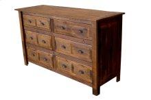 Six Drawer Dresser - Premium