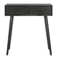 Dean 2 Drawer Vanity Desk - Black